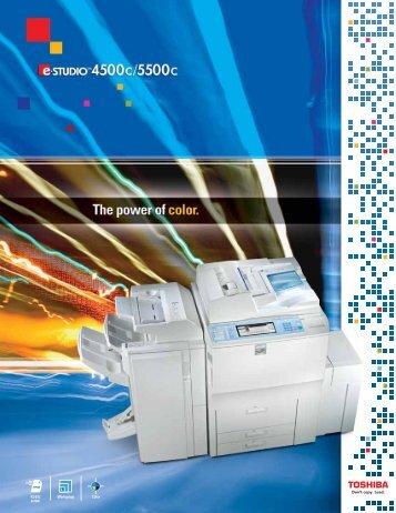 Product Brochure - Multi Function Printers