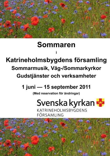 Sommaren - Katrineholmsbygdens församling