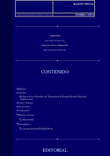 Boletin 1 Año 3 - cieesc.com