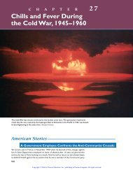 27 Chills and Fever During the Cold War, 1945–1960 - WW-P High ...