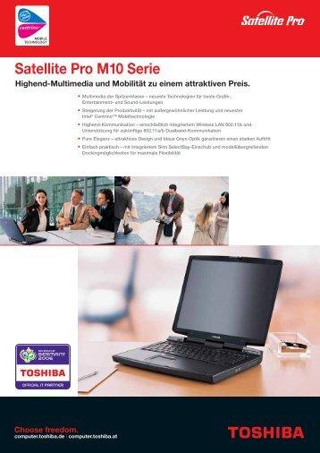 Satellite Pro M10 Serie - Toshiba