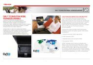 DVB-T TECHNOLÓGIA MOBIL TÉVÉKÉSZÜLÉKEKHEZ - Toshiba