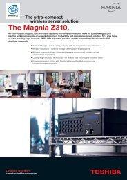 The Magnia Z310. - Toshiba