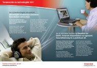Tendenciák és technológiák 2007 - Toshiba