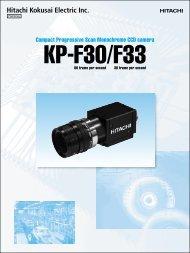 Compact Progressive Scan Monochrome CCD camera