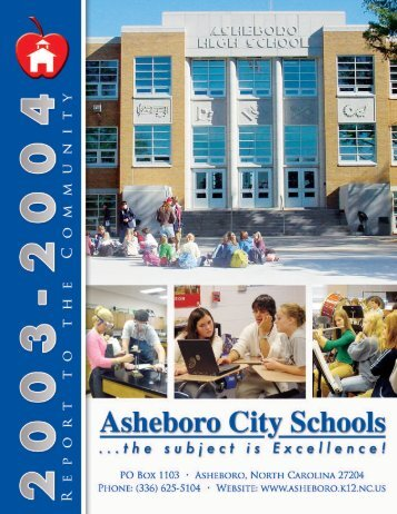 2003-2004 - Asheboro City Schools