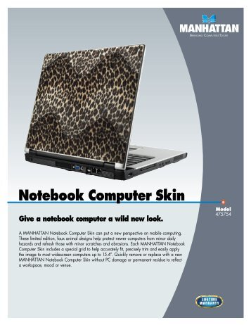 Notebook Computer Skin - IC Intracom