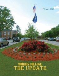 Winter-Spring 2009 - Morris College