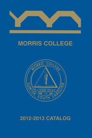 Catalog - Morris College