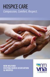 Download Brochure - New Milford Visiting Nurse Association