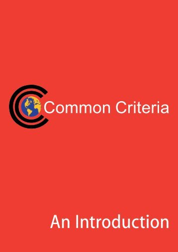 Common Criteria: An Introduction - Prof. Ravi Sandhu