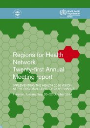 Regions-for-health_Florence-report