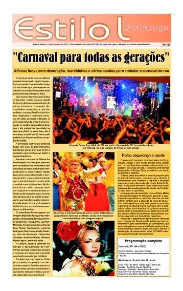 Caderno L 19 de FEVEREIRO 2011.p65 - Jornal dos Lagos