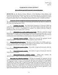 Item 9 H-F Exclusion Resolution 6-26-13 - Harrisburg School District