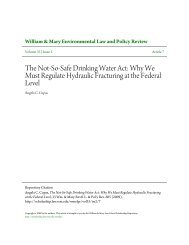 The Not-So-Safe Drinking Water Act: Why We ... - Hydro Relief Web