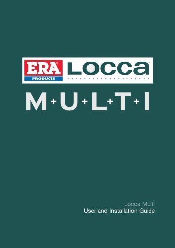 Locca Multi User and Installation Guide