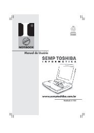 Manual do Usuário - Semp Toshiba