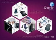 office seating - Osmond Ergonomics
