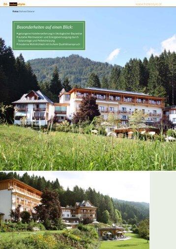Besonderheiten auf einen Blick: - architekten ronacher ZT GmbH