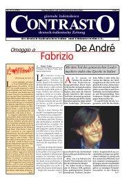 Fabrizio De André - Contrasto