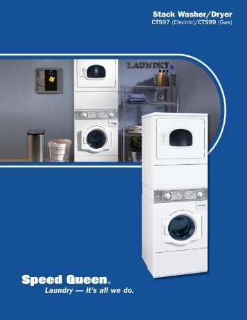 stack washerdryer laundry u20acu201d itu0027s all we do speed queen