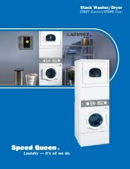 Stack Washer/Dryer Laundry — it's all we do. - Speed Queen