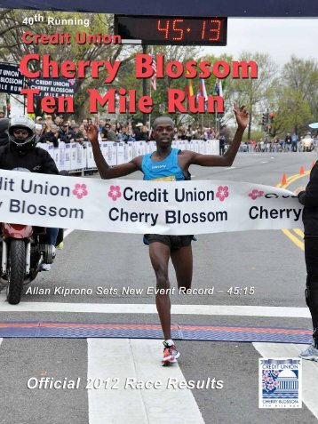 2012 Results Book (.pdf format) - Credit Union Cherry Blossom