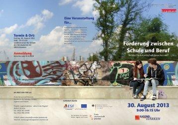 pdf, 5.6 MB - Jugendwegweiser - Bremen