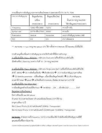 F 5 ( ETV, DLTV, TGN)