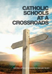 catholic schools at a crossroads - Bishop Manning Scholarship Fund