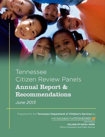2013 Annual Report Final (pdf) - University of Kentucky