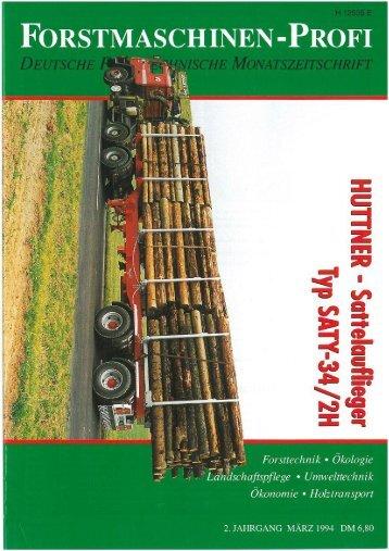 März 1994 - Huttner Fahrzeugbau GmbH
