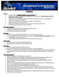 DODGEBALL - Buffalo Athletics