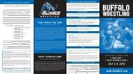 wrestling - Buffalo Athletics - University at Buffalo