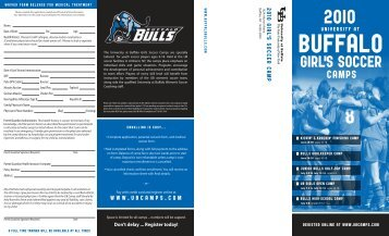 girl's soccer - Buffalo Athletics - University at Buffalo
