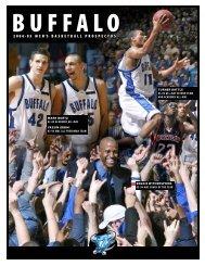 2004-05 Men's Basketball Prospectus - Buffalo Athletics - University ...