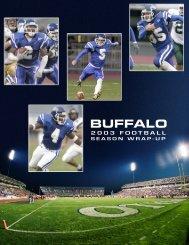 fb wrapup 2003 - Buffalo Athletics - University at Buffalo