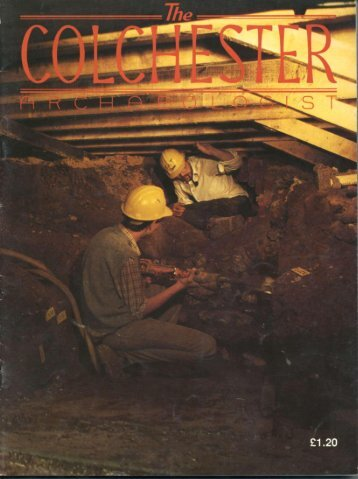 The Colchester Archaeologist 1986-7 - CAT