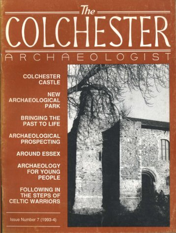 The Colchester Archaeologist 1993-4 - Colchester Archaeological ...
