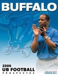 2006 Football Prospectus - Buffalo Athletics - University at Buffalo