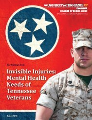 Invisible Injuries: Mental Health Needs of Tennessee Veterans