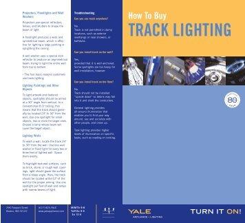 TRACK LIGHTING - Yale Appliance and Lighting