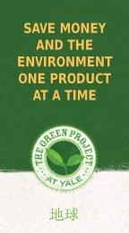 SAVE MONEY AND THE ENVIRONMENT ONE PRODUCT AT A TIME
