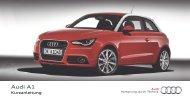 Kurzanleitung A1 - PDF - Audi