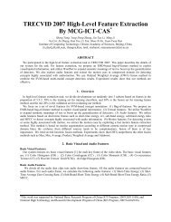 TRECVID 2007 High-Level Feature Extraction By MCG-ICT-CAS
