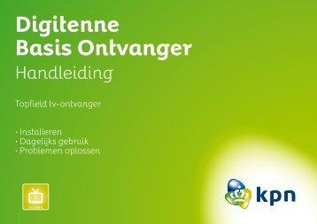 Digitenne Basis Ontvanger - Handleidingen en software