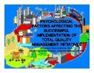 psychological factors affecting the successful ... - ecr-uvt