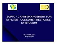 Demand side management of a supply chain through ... - ecr-uvt