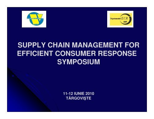 Demand side management of a supply chain through ... - ecr-uvt