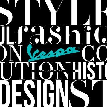 Catálogo Vespa 2013 Descubra-a + info